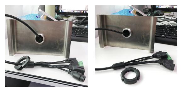 真地闸机式人脸识别测温一体机CWT1如何安装?