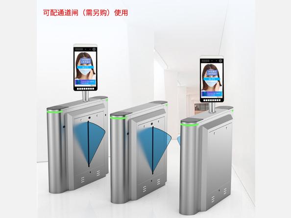 真地人脸识别测温门禁机CWT1