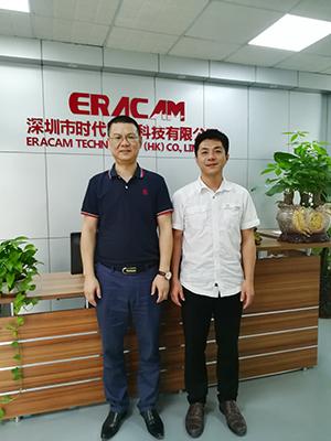 深圳时代对广州真地信息产品赞赏有加